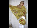 Вязаные крючком шали.Сrochet shawl.
