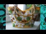 Вязаные крючком сумочки от Надежды Левандовской. Beautiful crochet handbags