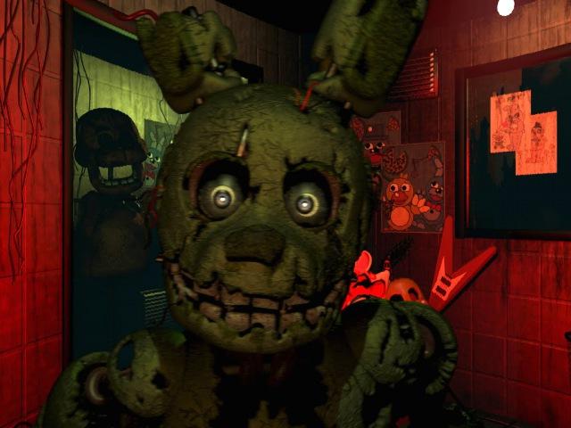 Five Nights at Freddy's 3 (2) - 4 и 5 ночи пройдены! Плохая концовка, Extra