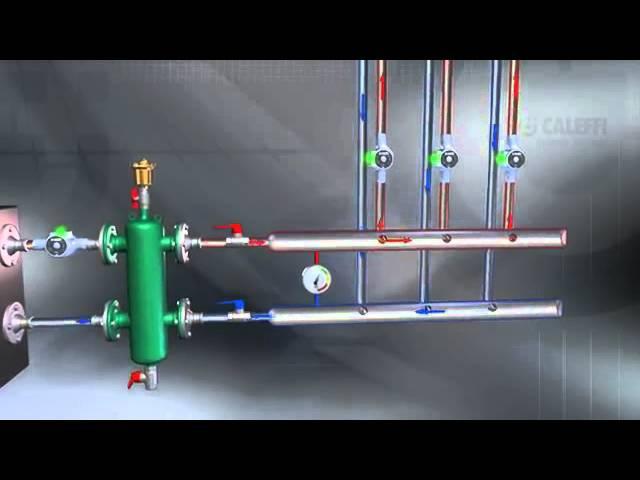 Принцип работы гидравлической стрелки