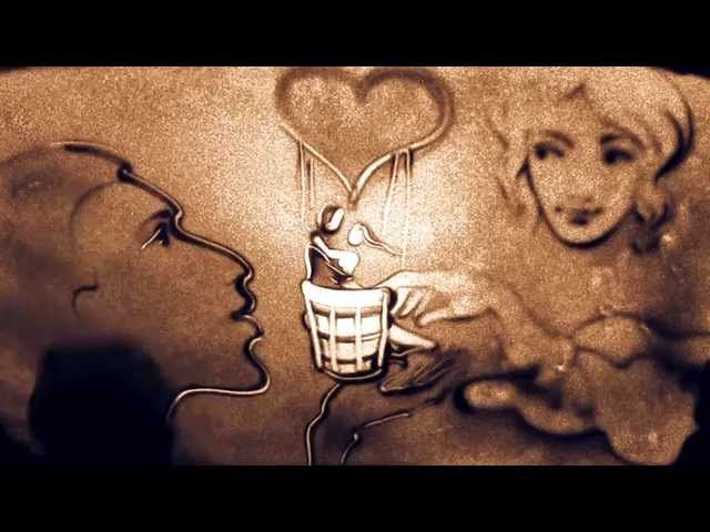 Beethoven Moonlight Sonata, BB project (bandura button accordion) Sand Animation About Love