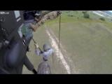Высадка американских солдат.Я валялся от смеха))))