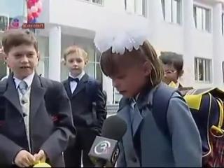 Приколы с детьми Веселое 1 Сентября Самое душераздирающее видео Никакого праздника! Меня сначала за