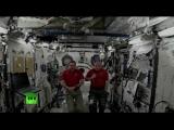 Прямая линия телеканала Russia Today с участниками годового полета на МКС
