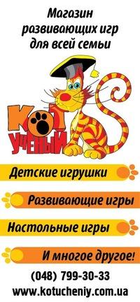 Игры учёный кот