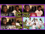 Black People React to Kpop AOA (