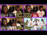 Black People React to Kpop AOA (