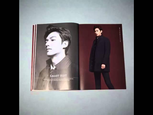 Lee Min Ho for TNGT Office Fashion Fall Winter 2015 LookBook 23 09 2015