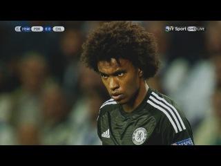 Willian vs Porto (Away) UCL 29/09/2015 HD
