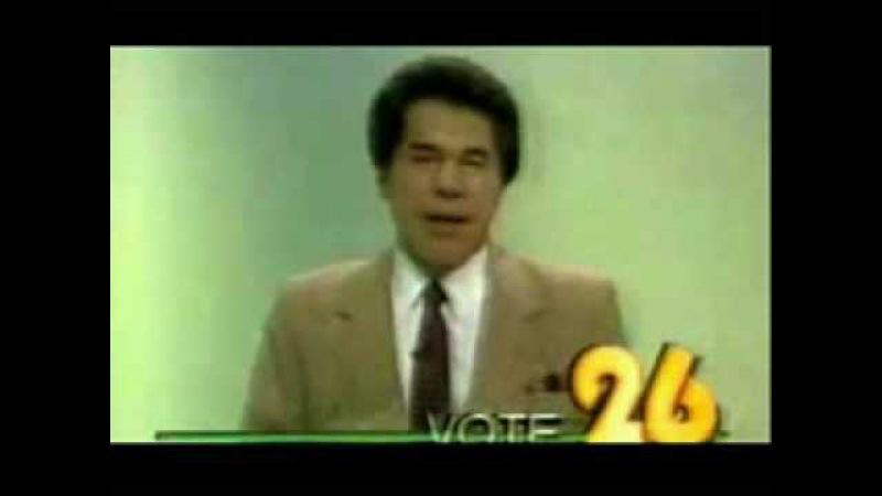 Silvio Santos - Candidato a presidente do Brasil - UOL - SBT - 1989