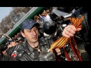 Грузинские активисты заставили российских байкеров снять георгиевские ленты в Тбилиси
