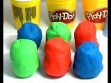 6 Surprise eggs. Funny video. Spiderman surprise egg. Игрушки из пластилина Play Doh