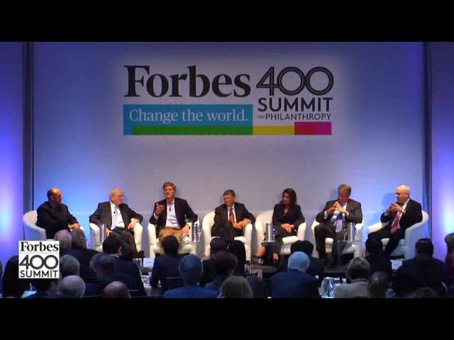 Why Give It All? Gates, Buffett, Case Headline An All-Star Panel (Extended)