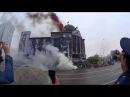 9 мая 2015 город Грозный Чечня постановка штурма рейхстага