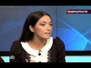 Диана Макиева на Говорим и показываем- ЧЛЕНОВРЕДИТЕЛЬСТВО!
