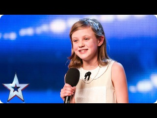 Singer Gracie is a little sweetie, but will her dreams come true? | Britain's Got Talent 2015