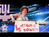 Golden buzzer act Lorraine Bowen won't crumble under pressure  Britain's Got Talent 2015