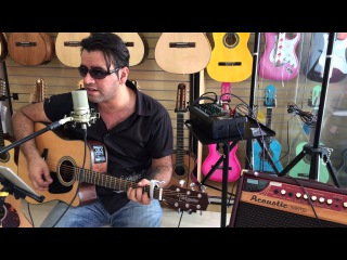 Three doors Down -  Here Without You + Takamine GD10 (Luciano Belgrado Cover) @Transa Som