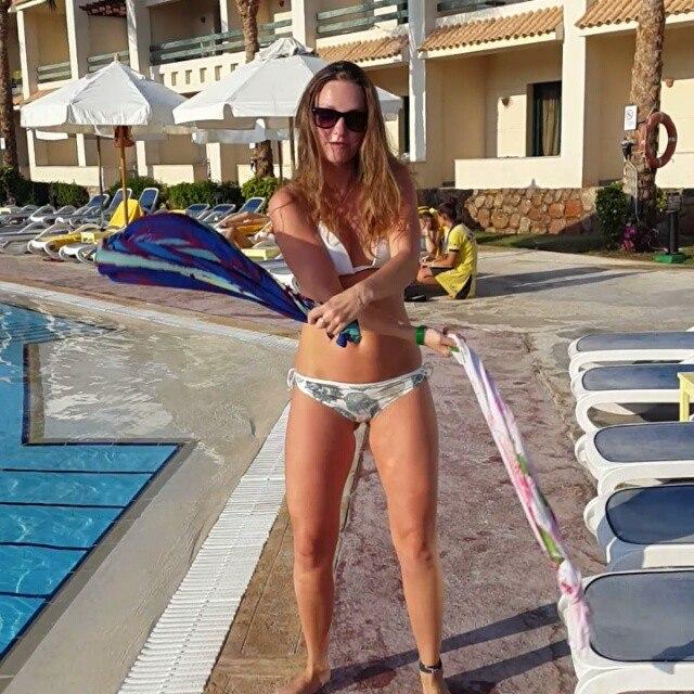 Русские голые девушки отдыхают на море в Египте