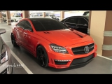 Mercedes CLS 63 AMG Stealth by GSC - 750hp - 1150 Nm of torque