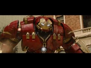 Халк vs Железный Человек / «Мстители: Эра Альтрона»