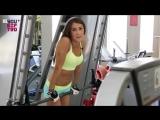 Тренировка на мышцы груди в тренажерном зале