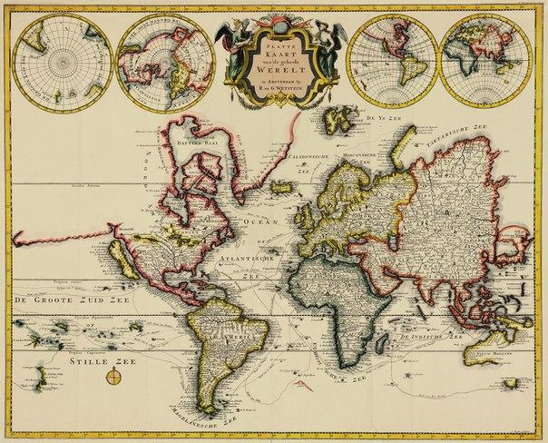 Купить постеры со старыми и древними картами