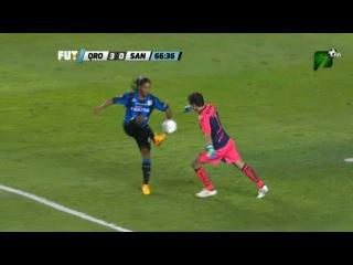 Ronaldinho Crazy Disallowed Goal - Queretaro vs Santos 3-0 Final Liga MX 2015