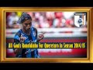 All Goals Ronaldinho For Queretaro In Season 2014/15
