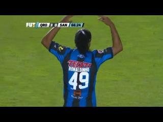Ronaldinho vs Santos HD - Queretaro vs Santos 3-0 (Final Liga MX 31-05-2015)