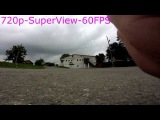 GoPro Hero 2014:1080-30fps, 720s-60fps, 720-60fps.