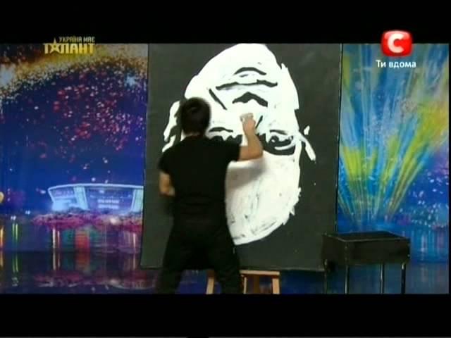 Денис Дитинюк Украина имеет талант 4 (выпуск 5 от 07.04.2012)