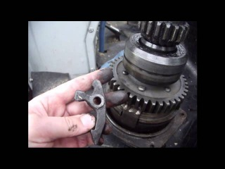 Трактор МТЗ 82 Ремонт бендикса