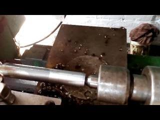 ремонт  соединительной трубы трактора