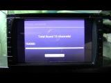 Работа DVB-T2 USB тюнера PT590 с магнитолой Astral модель 6204S (аналог Carpad3)