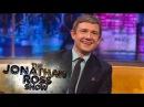 Martin Freeman's Hobbit Feet - The Jonathan Ross Show