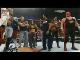 Lita (w/Legends) vs Heath Slater | WWE RAW 1000th Episode