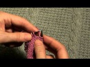Вязание для начинающих. Как рассчитать и связать скос плеча (начало).