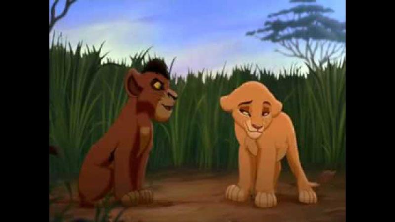 Киара и Кову - Ты знаешь, кто мой папа?! ✴ Kiara and Kovu - You know who my dad is?!
