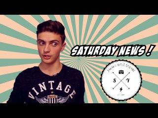 Saturday! News. Пучеглазая камера и Киты под сиянием