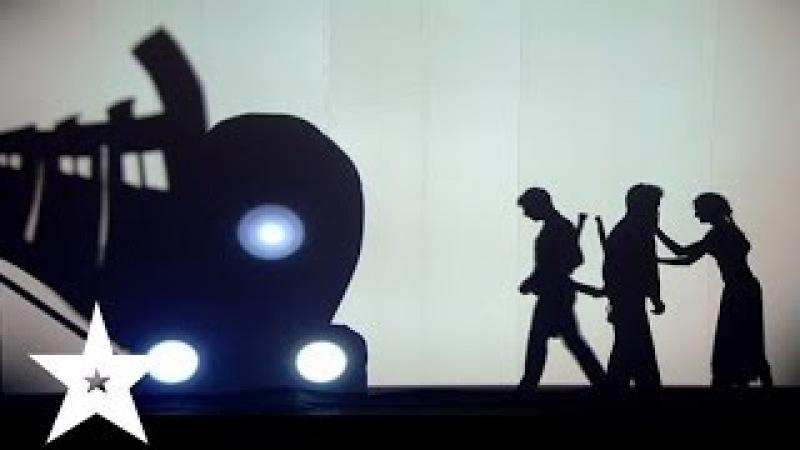 Трогательное выступление от театра теней Dreamway - Україна має талант-6 - Третий пр ...