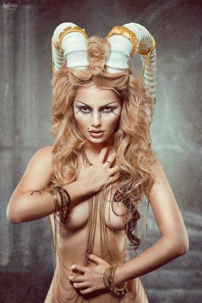 Фото жена с рогами 5 фотография