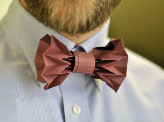 Бабочки галстуки своими руками мастер класс