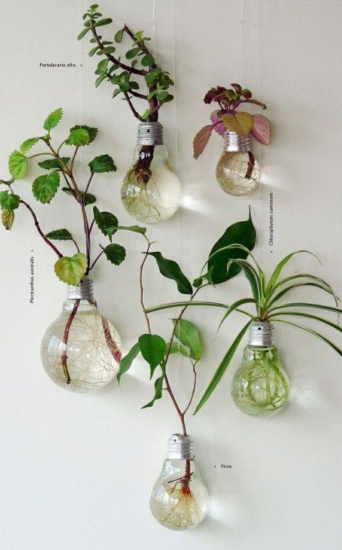 Делаем вазу - сувенир из старой лампочки - видео