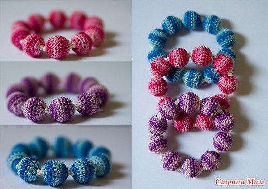 Как украсить браслеты из резинок