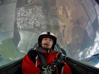 Flight video l-39 cockpit cut