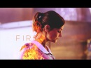 Twelfth doctor and clara fire