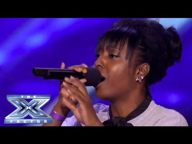 Ashly Williams Emotional I Will Always Love You Prompts Tears - THE X FACTOR USA 2013