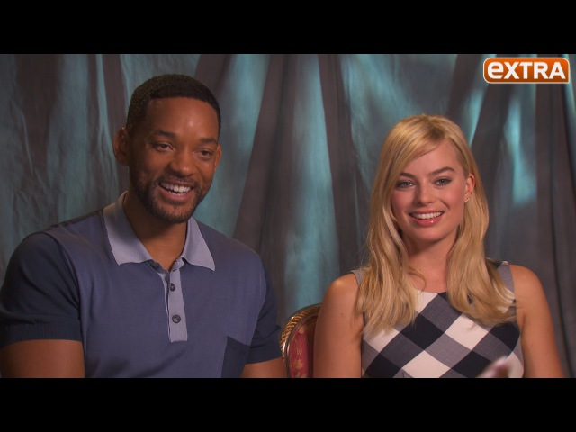 Watch Margot Robbie Beg Will Smith to Join Independence Day 2!