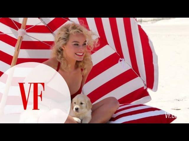 Margot Robbie Channels Marilyn Monroe for Vanity Fair